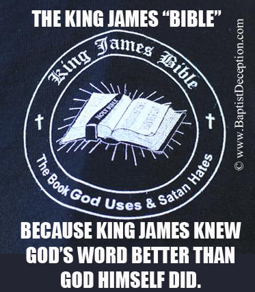 King James Bible the book god uses and satan hates